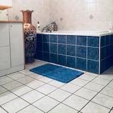 Double Room (2) - Deep Soaking Bathtub