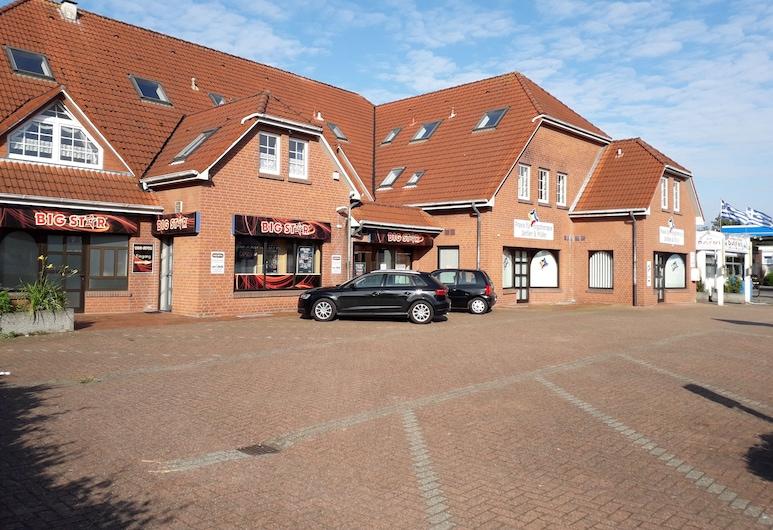 Pension Norddeicher Straße, Norden, Fachada do Hotel
