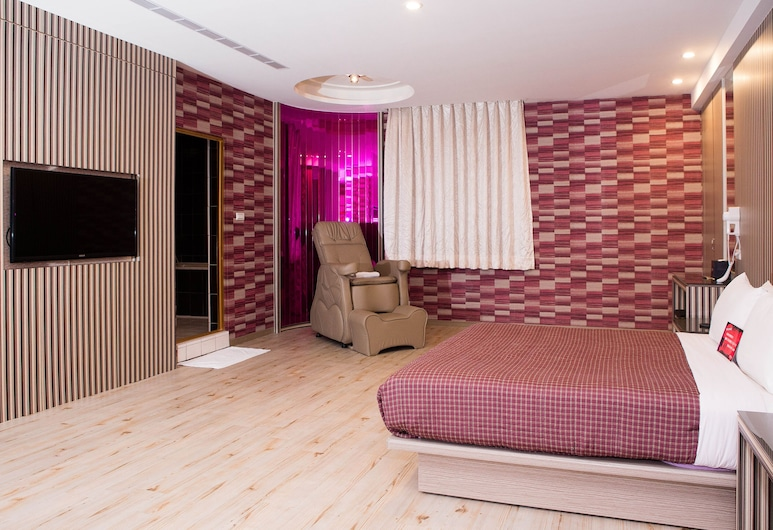 Midi Motel Pingtung Branch, Pingtung, Deluxe Double Room, Guest Room
