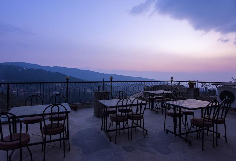 Hotel Marigold, Nagarkot, Speisen im Freien