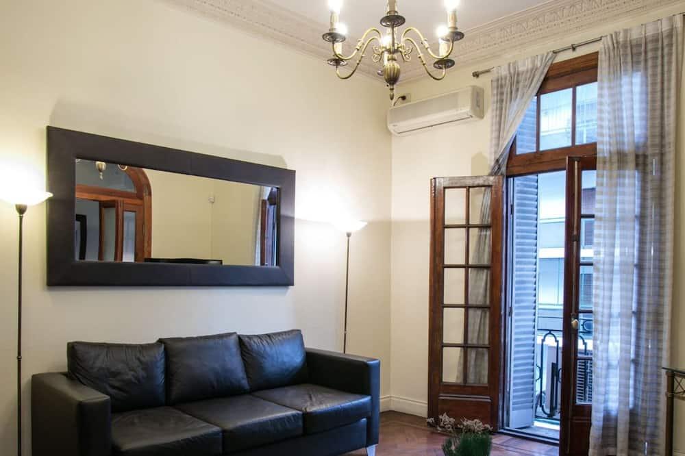 Appartement, 1 tweepersoonsbed, privébadkamer (Departamento 4to Piso) - Woonruimte
