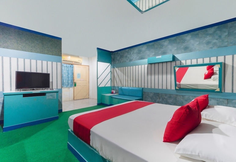 OYO 764 Lets go Hotel, Rayong, Chambre Double Standard, Chambre