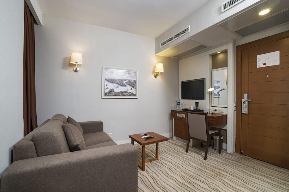 Pokoj typu Superior, nekuřácký, balkon (Sea View) - Obývací prostor