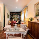 Vila, 4 spálne, terasa, s výhľadom do záhrady - Stravovanie v izbe