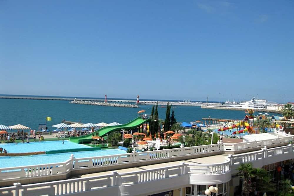 Superior apartman, 1 spavaća soba, za nepušače, pogled na more - Pogled na plažu/ocean