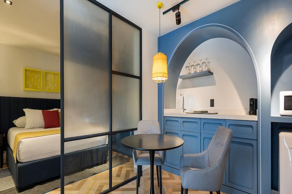 ซูพีเรียอพาร์ทเมนท์, 1 ห้องนอน - ห้องนั่งเล่น