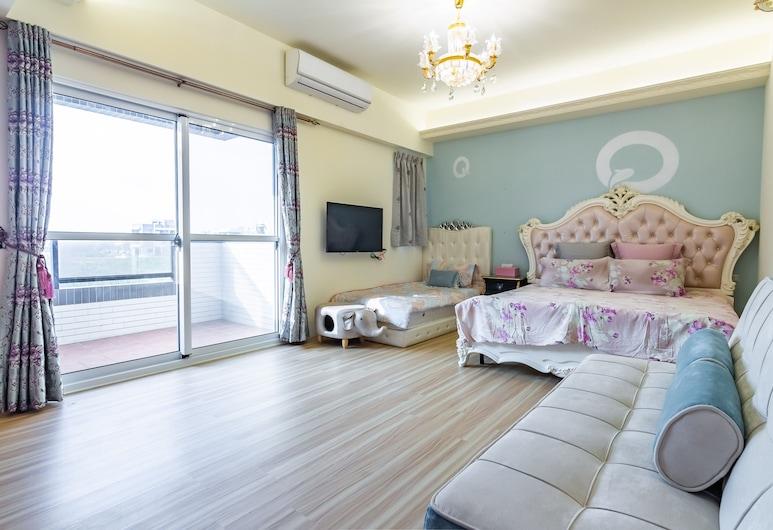 Lucent Homestay, Magong, Rom – luxury, balkong, utsikt mot hav, Utsikt fra gjesterommet