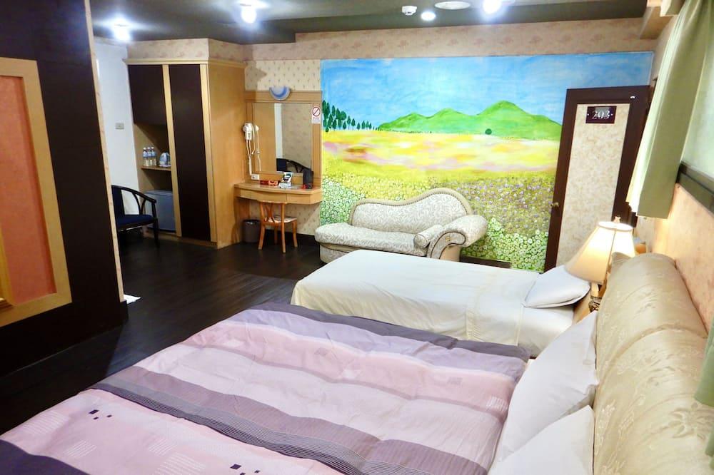 Habitación triple Elite (203) - Sala de estar