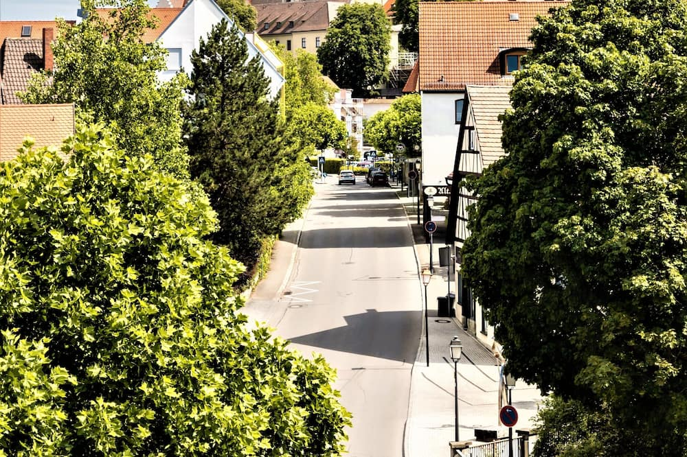Herbergi með tvíbreiðu rúmi - Borgarútsýni