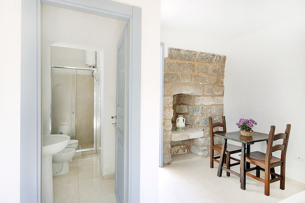 Departamento panorámico, 1 habitación (Lu Puzzu) - Baño