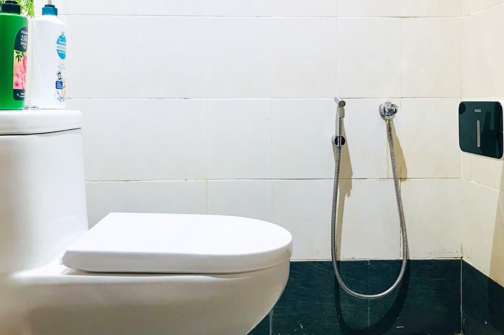 Standard-Zweibettzimmer, 2Einzelbetten - Badezimmer