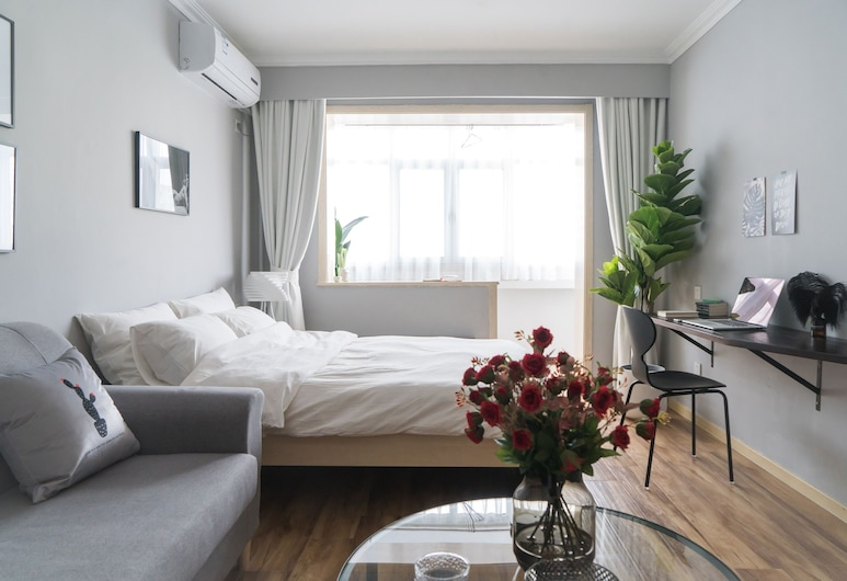 Cactus Space No.21, Beijing, Apartment, 2 Bedrooms, Living Area