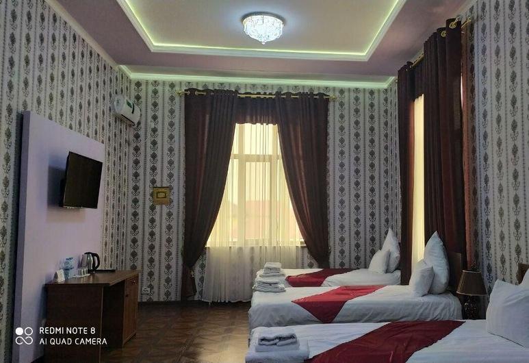 Villa Oasis Hotel Bukhara, Bukhara, Deluxe-herbergi fyrir þrjá, Herbergi