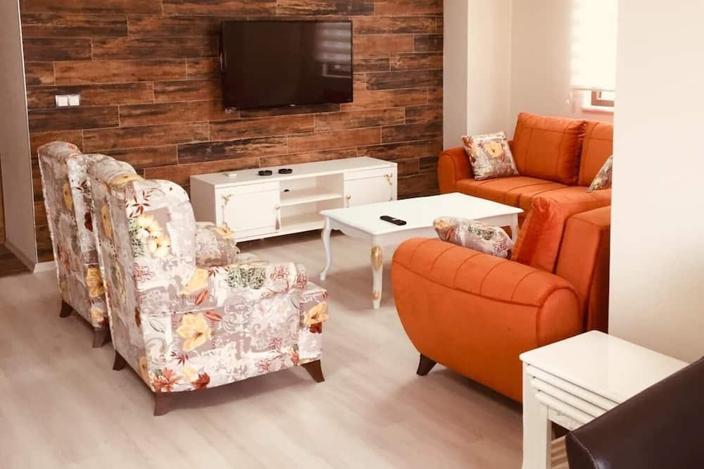 Apartament luksusowy, 2 sypialnie - Powierzchnia mieszkalna