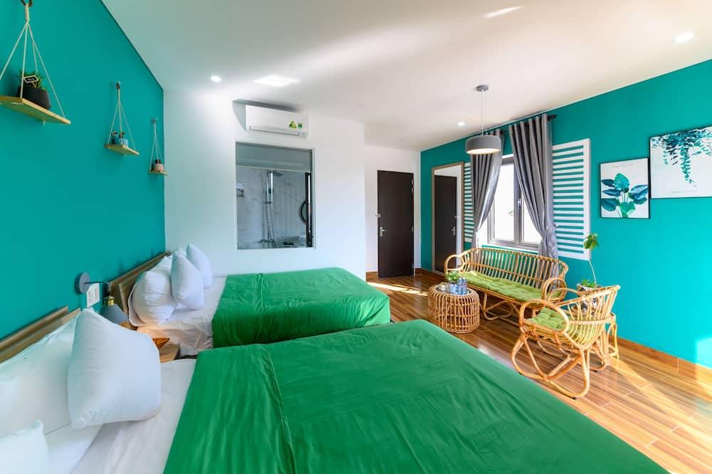 Deluxe-Zweibettzimmer - Wohnbereich