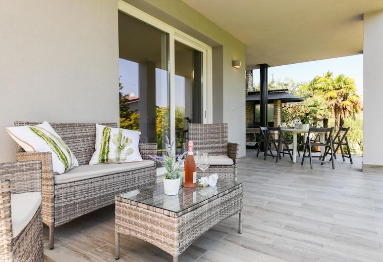 Casa Linda, Lazise, Planinska kuća - chalet, 2 spavaće sobe, za pušače, pristup bazenu, Balkon