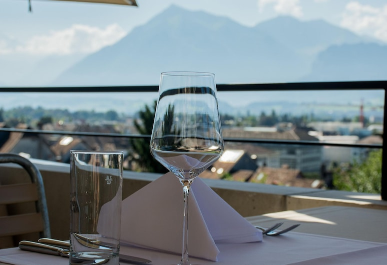 Boutique Hotel Schlossberg, Thun, Outdoor Dining