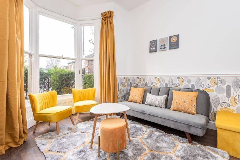 Apartamentai (1 Bedroom) - Svetainė