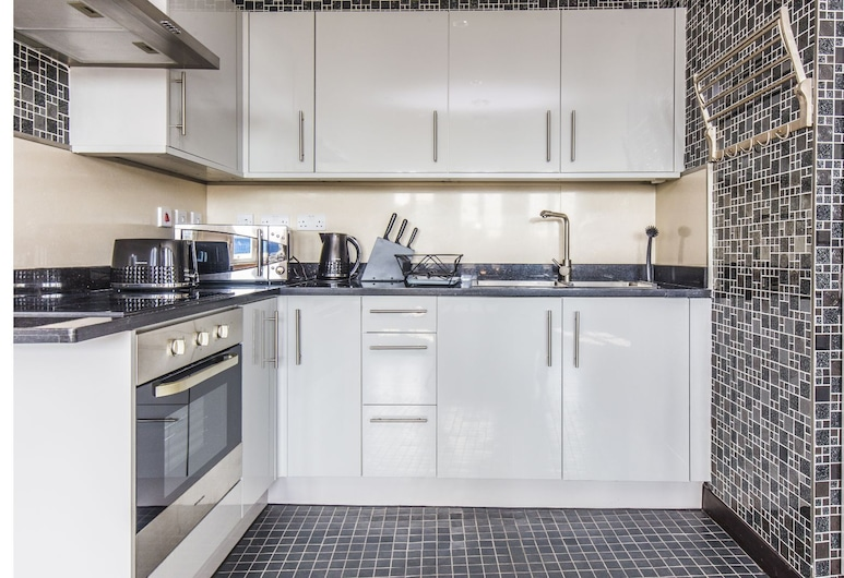 Brand New Apartment in London Bridge - 2S, London, Apartemen (1 Bedroom), Dapur pribadi