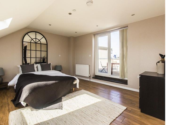 Modern 2 Bedroom Flat in London Bridge 8S, لندن, شقة (2 Bedrooms), الغرفة