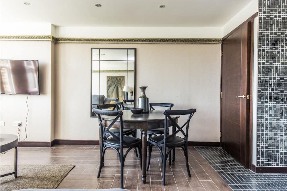Departamento (2 Bedrooms) - Servicio de comidas en la habitación