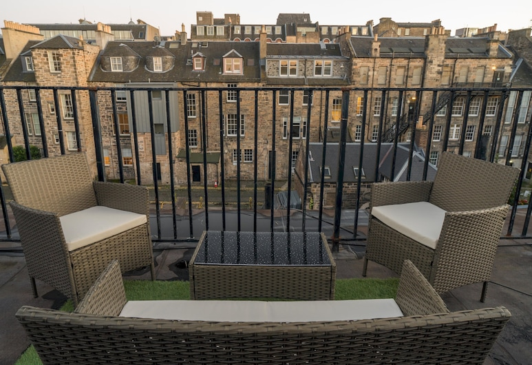 Queen St: Superb Penthouse Flat W/roof Terrace, Edinburgh, Apartment (4 Bedrooms), Balcony