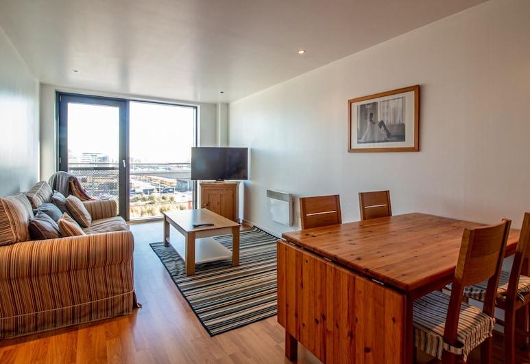 Riverside Simplicity: Great Views/secure Parking!, Glasgow, Apartament (2 Bedrooms), Powierzchnia mieszkalna