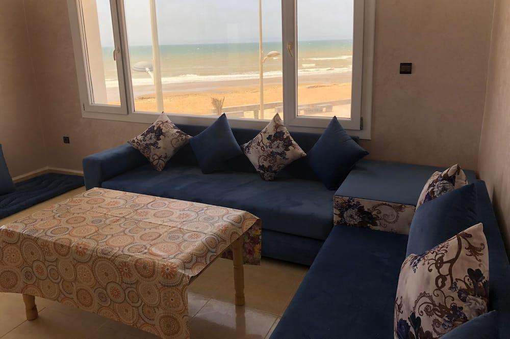 Premium Διαμέρισμα, Θέα στη Θάλασσα - Περιοχή καθιστικού