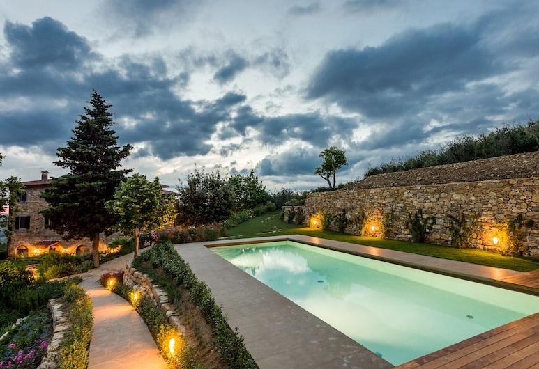 Luxury Chianti Between Grapes, Greve in Chianti, Pool
