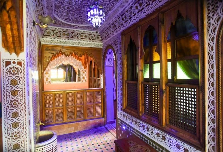 riad mehdi, Meknes, Hotelinteriør