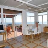 Departamento, 3 habitaciones, para no fumadores, vista al mar - Sala de estar