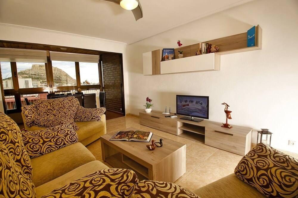 Departamento, 4 habitaciones, para no fumadores - Sala de estar