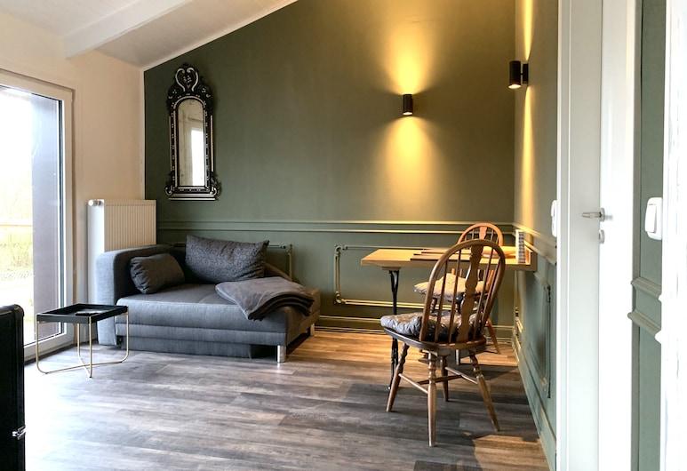 Rosenhof-Lodge, Hanerau-Hademarschen, Suite (Green), Living Area