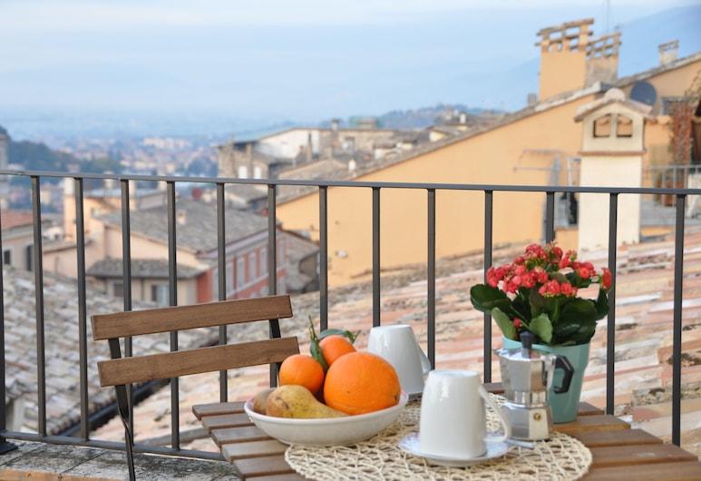 Residenza I Due Mondi, Spoleto, Appartamento panoramico, Terrazza/Patio