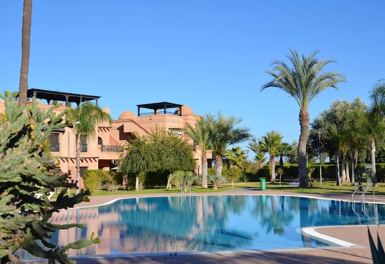 Apartment With 2 Bedrooms in Marrakesh, With Shared Pool, Furnished Terrace and Wifi, Marakeš, Bazen