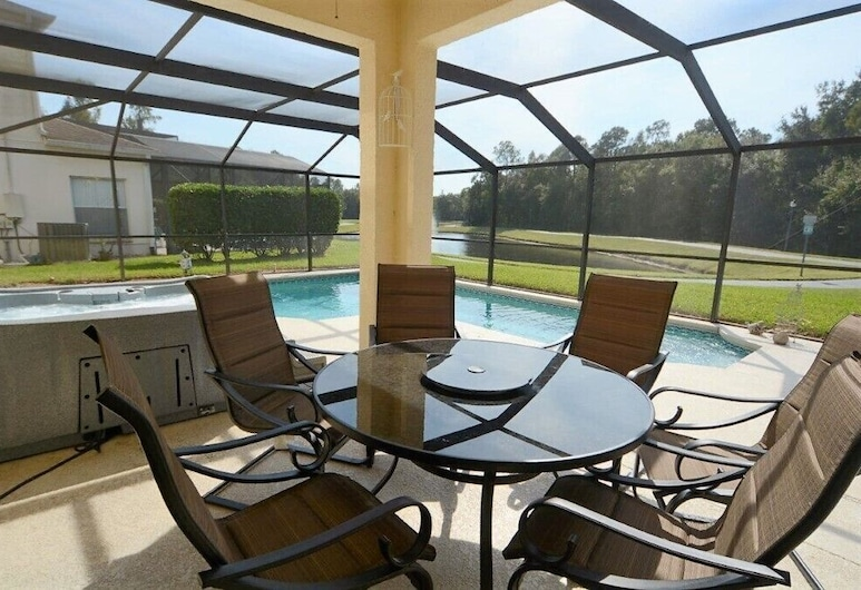 86340 2-story Pristine 4-bed Pool Home W/hot Tub & Balcony, Kissimmee, House (86340 2-Story Prestine 4-Bed Pool Hom), Balcony