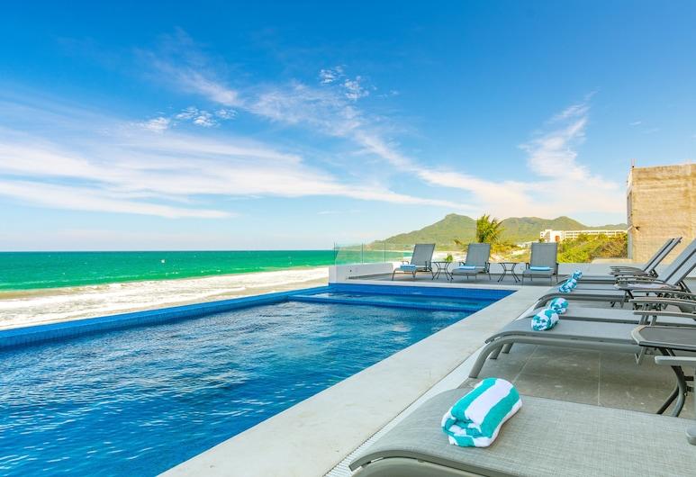 Xiobella Luxury Boutique Hotel, Punta de Mita, Piscine sur le toit