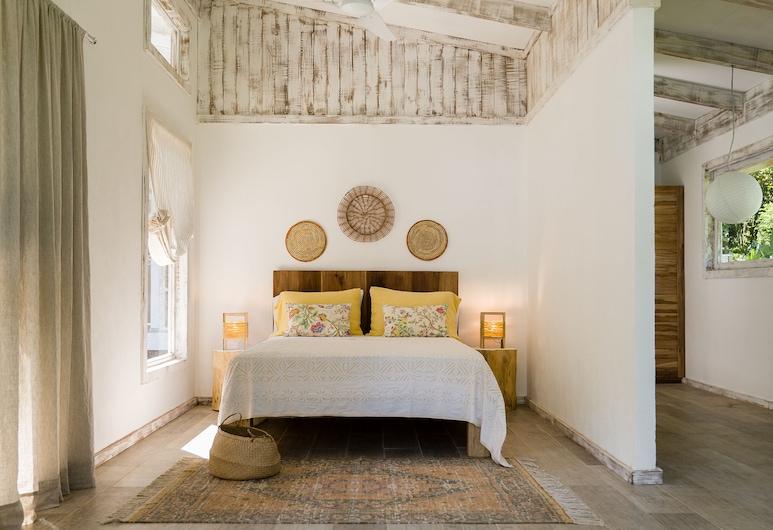 Sonora Caribbean Jungle Retreat, Puerto Viejo de Talamanca, Loft Confort, 2 habitaciones (Air conditioning), Habitación
