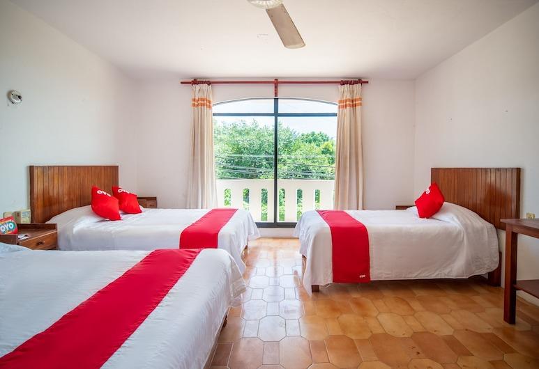 OYO Hotel Arena Surf, Puerto Escondido, Habitación familiar, Varias camas, Habitación