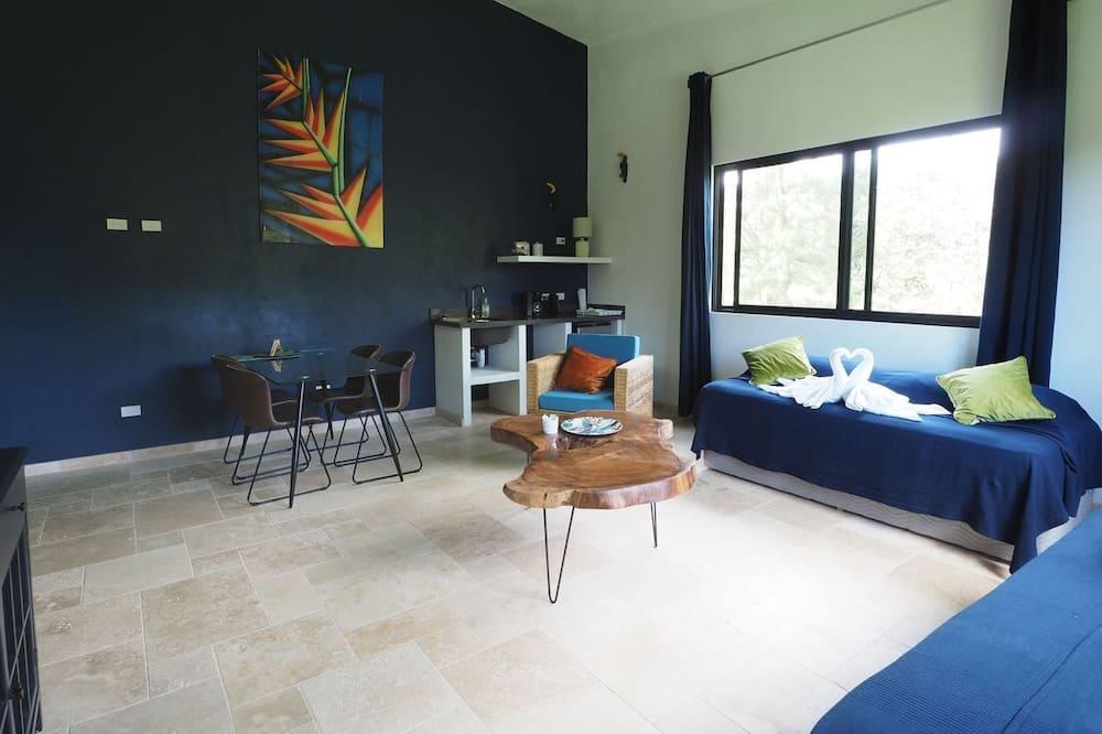 Family Quadruple Room, Multiple Beds, Kitchenette - Living Area
