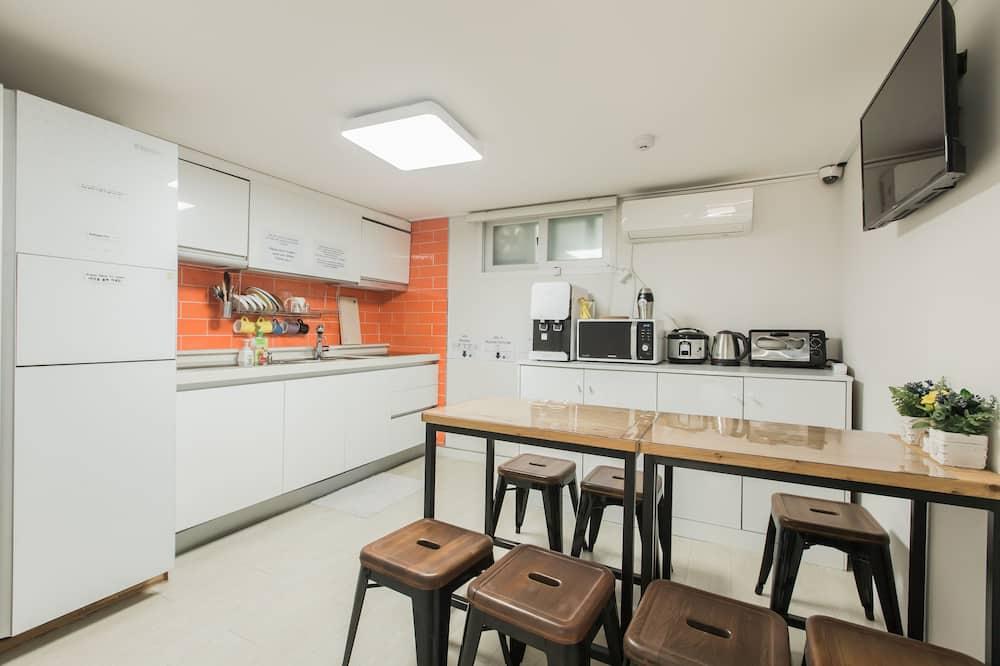 舒適共用宿舍, 僅限男士, 非吸煙房 (Up to 4) - 共用廚房