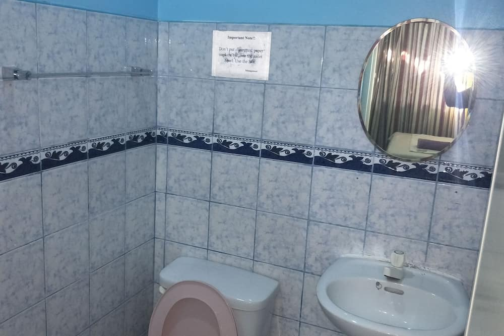 Standard Room Ground Floor Split Type AC (1) - Bathroom