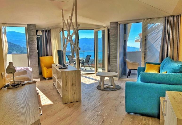Hotel Pierina, Budva, Panoramic-Studiosuite, Wohnbereich
