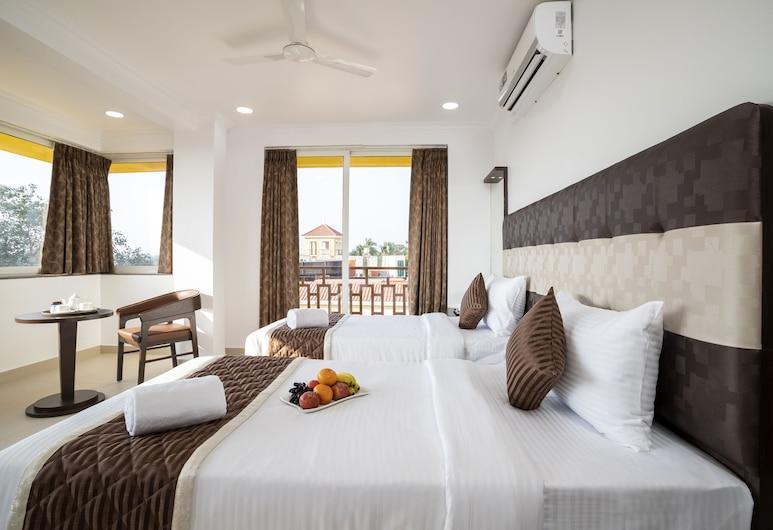 Sairaj Beach Resort, Calangute, 高級雙人或雙床房, 客房