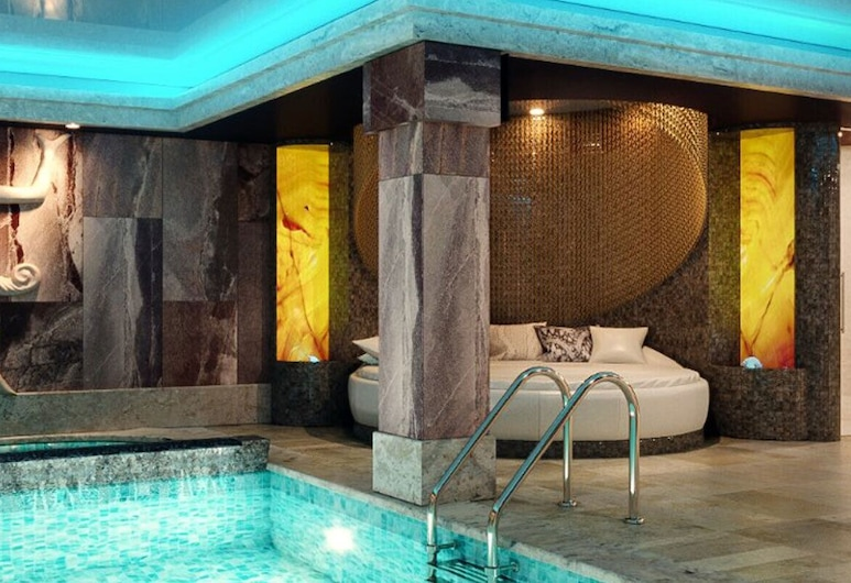Boutique Hotel & Spa Tsarevets, Veliko Tarnovo, Innendørsbasseng
