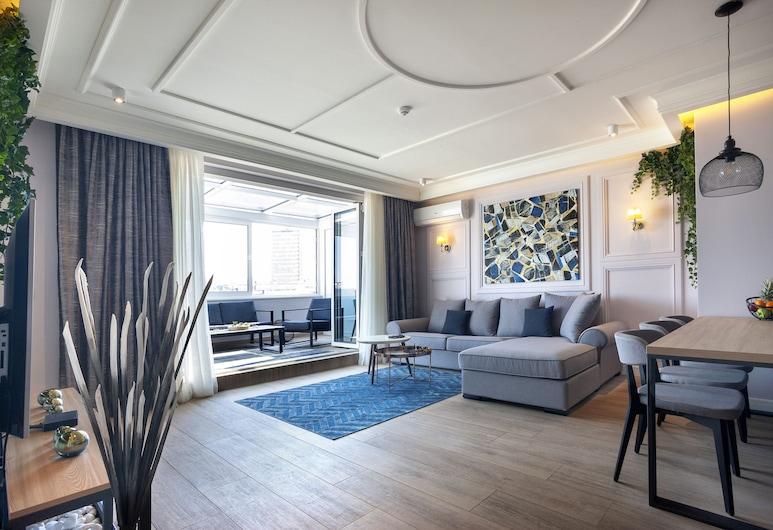 Dj City Vista Luxury Apartments, Βελιγράδι, Design Διαμέρισμα, Περιοχή καθιστικού