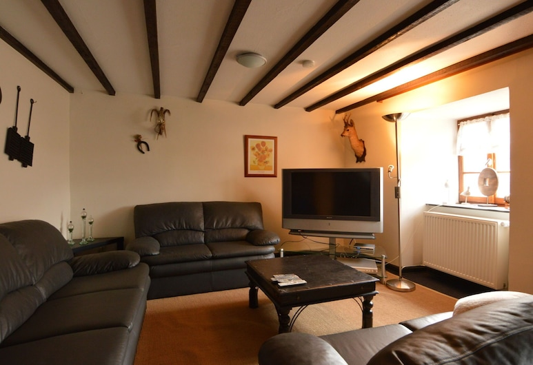 Pleasant Holiday Home in Ouren With a Bar, Burg-Reuland, House, Living Room
