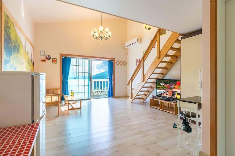 Zimmer (Peppermint) - Wohnbereich