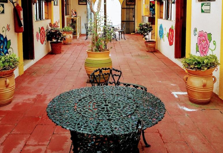 Hotel Calendas, Salina Cruz, Eingangsbereich