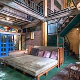 Single Bed in 6 Bed Dorm - Svetainės zona